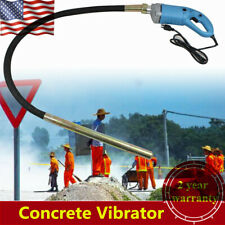 1300W 1.5m Electric Handheld Concrete Vibrator Power Tool Air Bubble Remover Usa