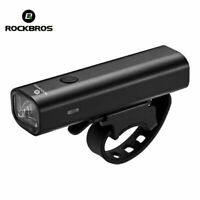ROCKBROS Cycling Bike Light 400Lumens Head Front Light USB Rechargeable LED BG