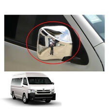 Wing Side Mirror Cover Chrome Hand Adj To Toyota Hiace Commuter Van 2005 - 16 17