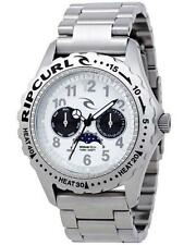 Rip Curl LUNAR MOONPHASE SSS WATCH Mens Surf Watch New - A2585 Silver