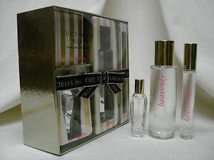 NIB Victoria's Secret ~HEAVENLY~3Pc Gift Set Eau Parfum, Rollerball & Body Mist