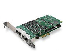 Sangoma A104DE , 4 T1/E1/J1 PCI-E Express Echo Canceller Card  Free Shipping