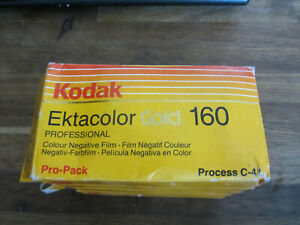 KODAK Ektakolor Gold 160 lot of 1pc Professional Negative Film EXPIRED