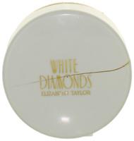 White Diamonds by Elizabeth Taylor For Women Body Powder 1.25oz Damaged Cap New