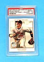 $180.00 Bryce Harper Rookie PSA GEM MINT 10 Multi Ad 2011 Baseball Phillies RC!!
