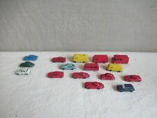 Sammlung 13 ältere Wiking Spur N und 3 Fleischmann Model Autos Transporter