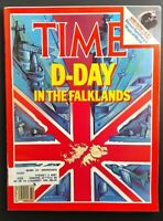 Time Magazine May 31, 1982 - D-Day in the Falklands ; Steven Spielberg's E.T.