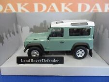 Die cast 1/43 Modellino Auto Land Rover Defender 90 verde chiaro by Cararama