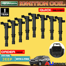 8Pcs for Jeep Grand Cherokee WJ WH Commander XK V8 4.7L EVA Ignition Coils