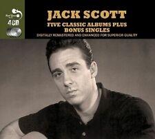 Jack Scott FIVE (5) CLASSIC ALBUMS+ What In The World's Come Over You NEW 4 CD