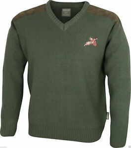 Jack Pyke Shooters Jumper Pheasant Hunting Sweater Pullover Cardigan XXL New