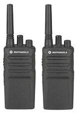 Motorola RMU2080 Two Way Radios UHF 8 Channel 2 Watt 99 Frequency One Pair