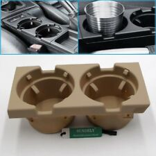 FRONT CENTER CONSOLE CUP/DRINKS HOLDER BEIGE FOR BMW 3 SERIES E46 2004 2005 2006