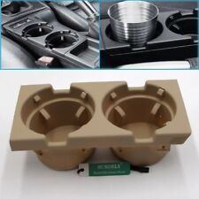 FRONT CENTER CONSOLE CUP/DRINKS HOLDER BEIGE FOR BMW 3 SERIES E46 1998-2007