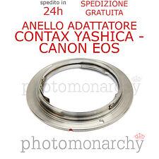 Anello adattatore obiettivo CY CONTAX YASHICA su reflex CANON EOS digitale