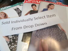 New Look Woman's Uncut Dress Sewing Pattern-Your Choice