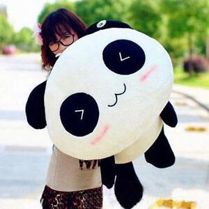 Kawaii Plush Panda Pillow Doll Toys Animal Giant Stuffed Bolster Gifts 55cm