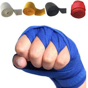 Boxing Gloves Cotton Bandage Fighting Sanda Strap Hand Wraps Handwraps B_cd