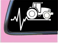 "Tractor Lifeline TP 224 vinyl 8"" Decal Sticker app farming plow crop seeds"