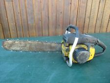 """Vintage McCULLOCH SUPER PRO 80 Chainsaw Chain Saw with 19"""" Bar"""