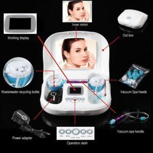Hydro Diamond Dermabrasion Microdermabrasion Water Peeling Facial Vacuum Machine