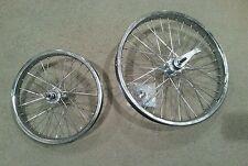 "1- 16X1.75"" FRONT RIM 14G & 1- 20x2.125 REAR RIM 12G, MUSCLE BIKE TYPE BICYCLE,"