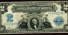 $2 1899 Mini Porthole : Silver Certificate * More Currency For Sale