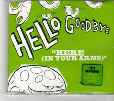 """(FM370) Hello Goodbye, Here (In Your Arms)"""" - 2007 CD"""