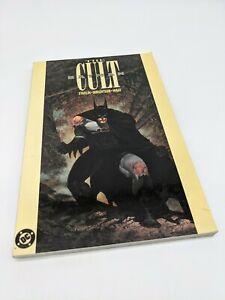 BATMAN THE CULT TPB THIRD PRINT 1991