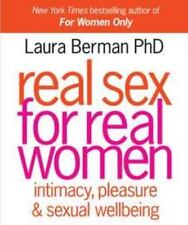 LAURA BERMAN - Real Sex for Real Women - HARDCOVER ** Like New - Mint **