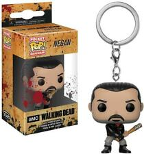 THE WALKING DEAD NEGAN PORTACHIAVI KEYRING FIGURE VINYL POP FUNKO LUCILLE 4 CM