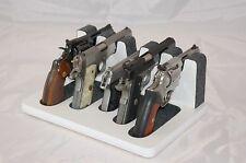 Pistol 5 Gun Rack Stand 501S White Gray Cabinet Safe