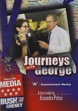 JOURNEYS WITH GEORGE BUSH (2002) -  Region Free DVD - Sealed