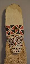 Papua New Guinea Mask Baining Female Day Dance Mask Bark Cloth Baining Mask