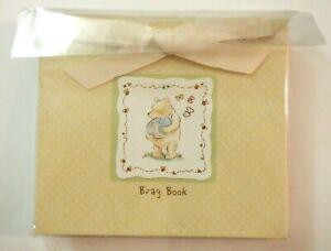 NEW - Disney Classic Winnie The Pooh Brag Book, Photo Book, Holds 24 Photos