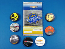 2014 NY International Auto Show GM Promo Cards and Buttons Chevy