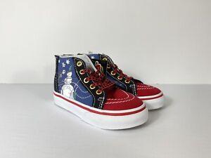 Vans x Disney Sk8-Hi Zip Nightmare Before Christmas Town Shoes NWB Toddler 4.5
