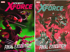 UNCANNY X-FORCE Final Execution Vol 1 & 2 HC Hardcover *Sealed/NM*