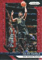 2018-19 Panini Prizm Basketball Fast Break Red #167 Julius Randle /125