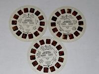 The Muppet Audition Night View Master Reels L9 A B C Lot of 3 Viewmaster 3D