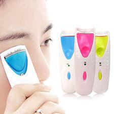 Electric Automatic Long Lasting Heated Eyelash Eye Lashes Curler Makeup Kit POP