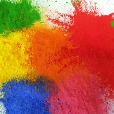 6 X 120GM BAGS HOLI FESTIVAL COLOUR RUN THROW POWDER BRIGHT COLOURS 6 X ASS COLS