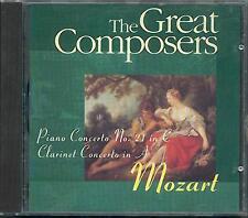 MOZART - CLARINET CONCERTO: JOST MICHAELS / PIANO CONCERTO NO 21: WALTER  KLIEN