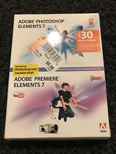 Adobe Photoshop Elements 7 + Adobe Premiere Elements 7
