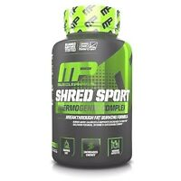 Musclepharm SHRED SPORT Fat Burner Weight Loss ENERGY - 60 capsules