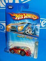 Hot Wheels 2005 Asphalt Jungle Series #83 Dodge Neon Dark Red w/ 5SPs