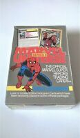 1991 Marvel Universe Series 2 Trading Cards Factory Sealed Box, 36 Packs Impel