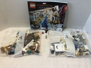 Lego Marvel Spider-Man Far From Home 76129 2 Sealed Bags w/ Mysterio & Spiderman