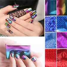 20Pcs Foils Finger Nail Art Sticker Decal DIY Transfer Stickers Tips Decor New