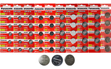 Panasonic 3V Lithium Coin Cells (5 Batteries) -- Multiple CR Sizes Available